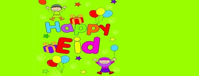 Beautiful Happy eid Catoons cover