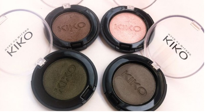kiko Eyeshadow Review