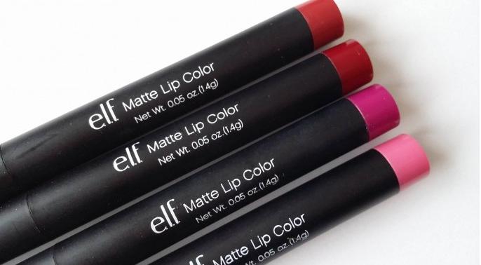 Elf Lipstick Review