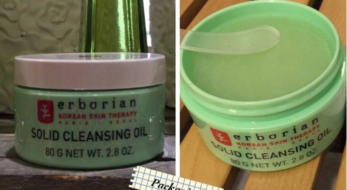 Solid Cleansing Oil by erborian #3