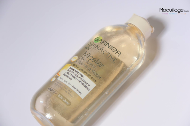 Garnier makeup remover review
