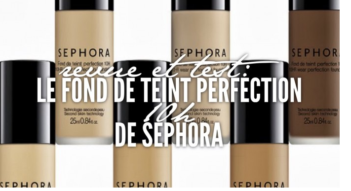 Sephora Teint Infusion Foundation Review