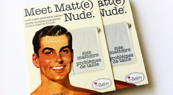 The Balm Meet Matte Review