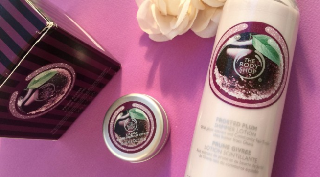 The Body Shop Frosted Plum Review