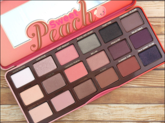 Too Faced Sweet Peach Eye Palette Review