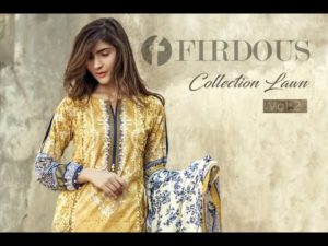 Firdous Summer Lawn Collection 2018