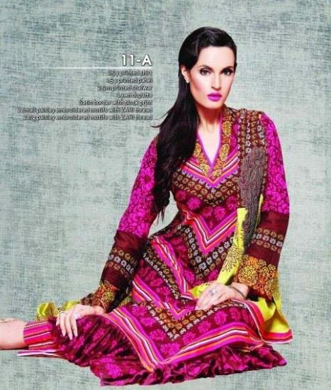 nadia hussain lawn collection