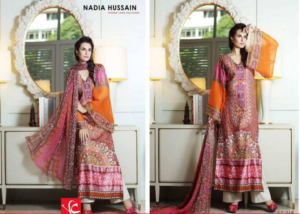 new lawn collection Nadia hussain