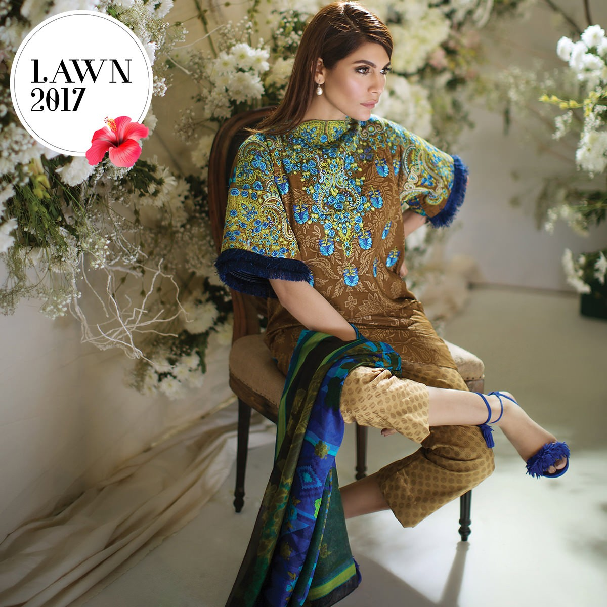 Sana Safinaz Lawn 2018 Summer Collection