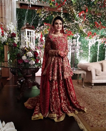Latest Bridal Wear Trends and Designs 2018