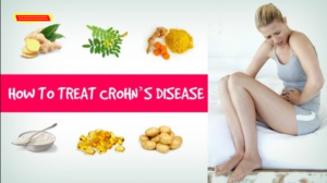 Treating Cohn's Disease having a Special Diet