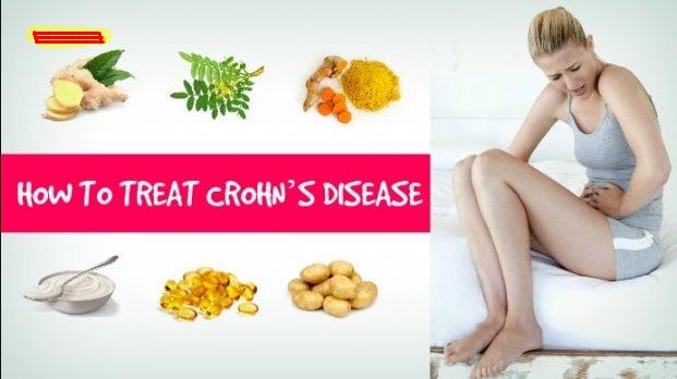 Treating Cohn's Disease having a Special Diet