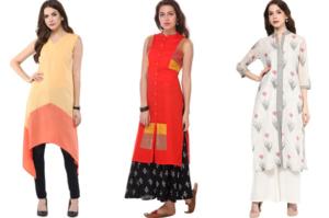 Which neckline looks good on your kurti?