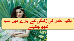 Hania Amir Age, Education, Family, And Career