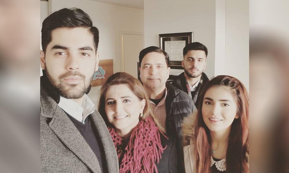 Momina Mustehsan Family