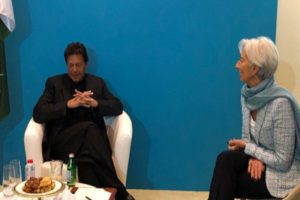 IMF Chief Ready To Support Pakistan After Meeting PM Imran Khan