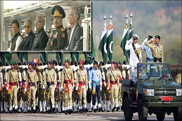 Nation Celebrates Pakistan Day As Military Parade Underway In Islamabad