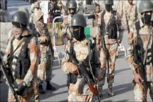 Rangers Arrest 11 Suspects Including Two MQM-L Activists