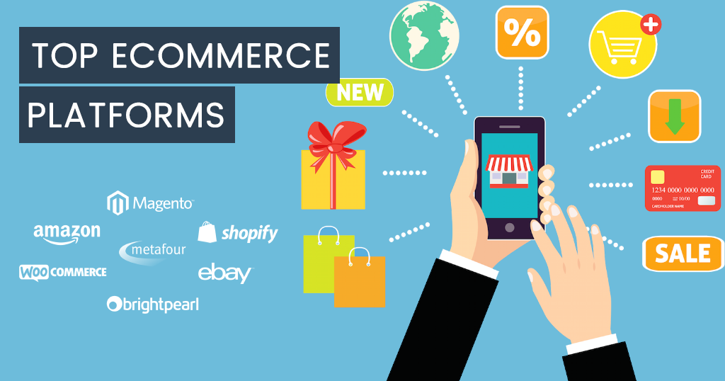 Top 5 E-commerce Platforms Used Commonly